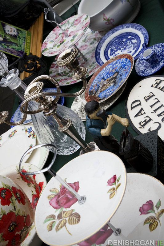Bric-a-brac at the Milk Market in Limerick