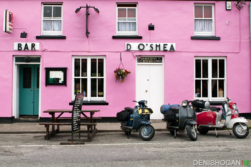 Born to be Wild - Vespas in Sneem, Co. Kerry