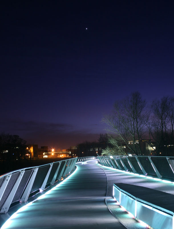 Star over the Living Bridge