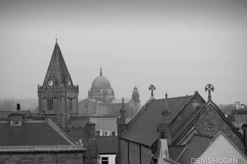 Three Churches – a Galway skyline